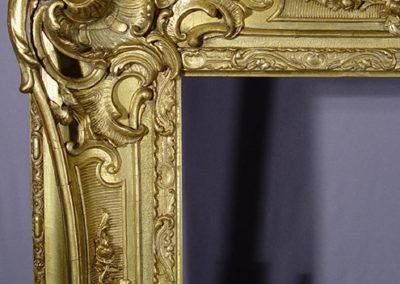 Frame Conservation & Restoration: After (Detail)