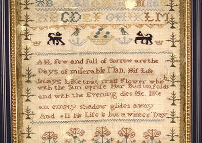 Textile Preservation: After