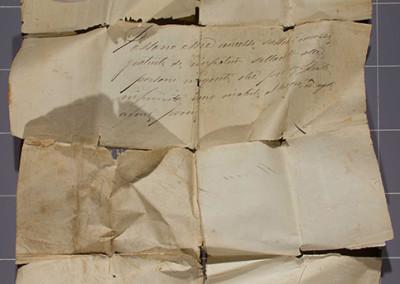 Paper Conservation: Before